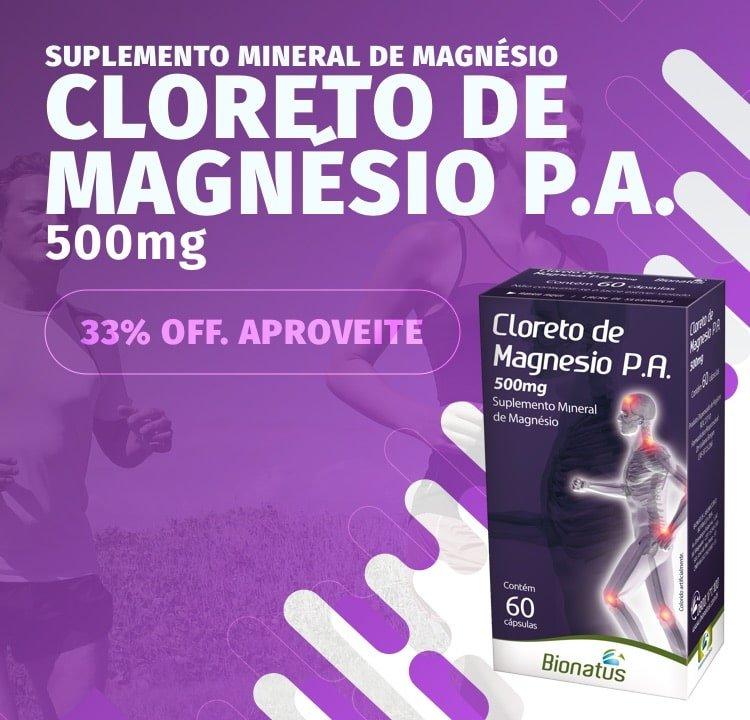 Cloreto de Magnésio 33 OFF