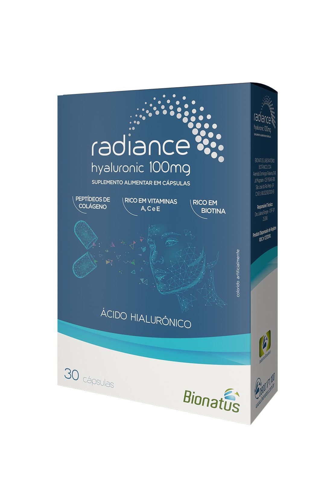 Radiance Hyaluronic 100mg