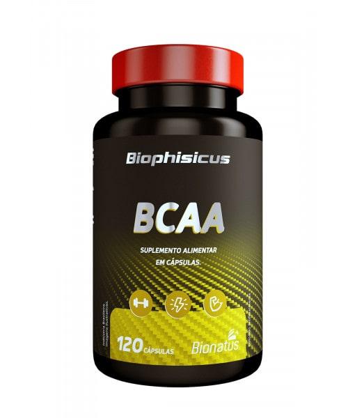 BCAA em cápsulas