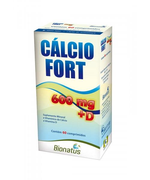 Cálcio Fort 600 + D